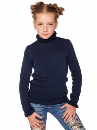 Детская теплая водолазка для девочки
