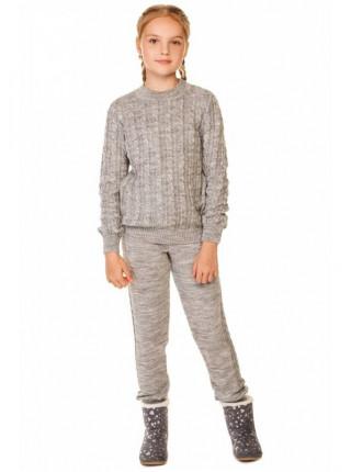 Вязаный спортивный костюм детский