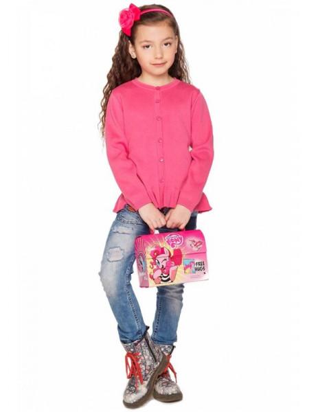Модная детская кофта на пуговицах