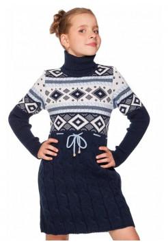 Плаття в'язане дитяче для дівчинки