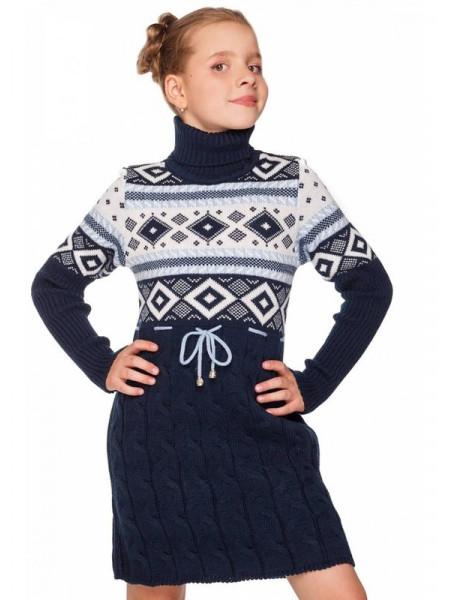 Платье вязаное детское для девочки