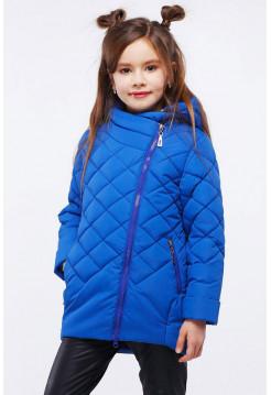 Детская куртка в спортивном стиле для девочки