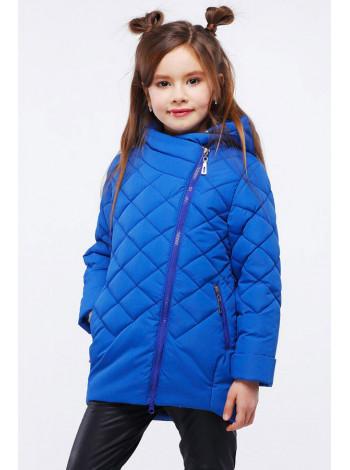 Дитяча куртка в спортивному стилі для дівчинки