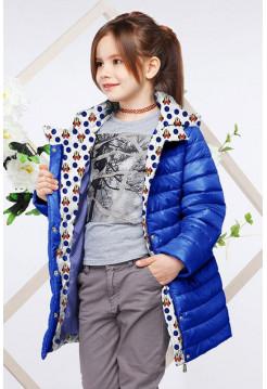 Прямая детская куртка на весну осень