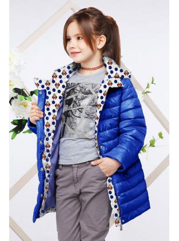 Пряма дитяча куртка на весну-осінь