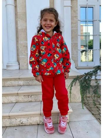 Теплий дитячий костюм з начосом