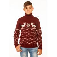 В'язаний светр під горло для хлопчиків