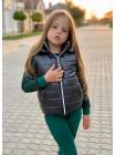 Модная жилетка детская для девочек