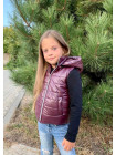 Модна жилетка дитяча для дівчаток