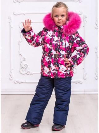 Зимовий дитячий костюм із комбінезоном