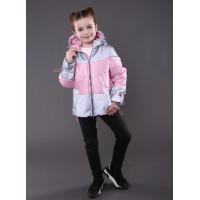 Весняна дитяча куртка для дівчинки