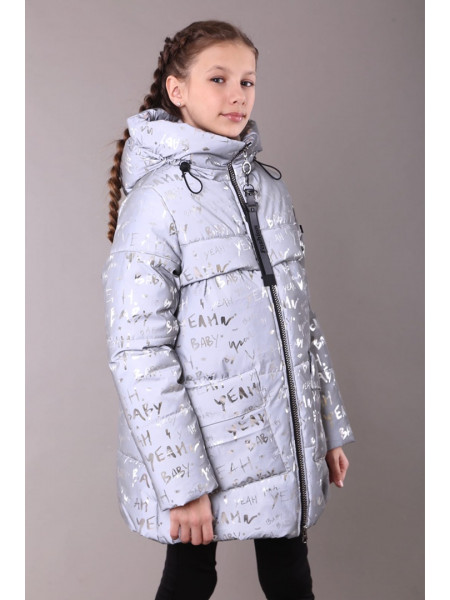 Детский зимний пуховик для девочки