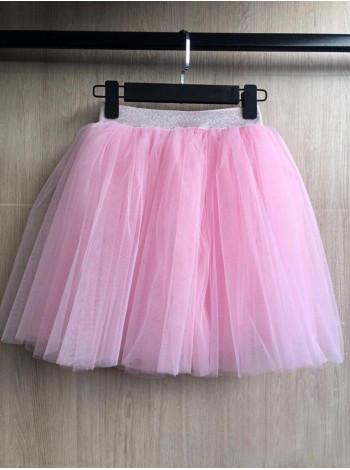 Короткая фатиновая юбка для девочки