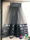 Чорна юбка з фатину для дівчинки