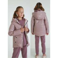 Легка дитяча куртка на синтепоні для дівчинки