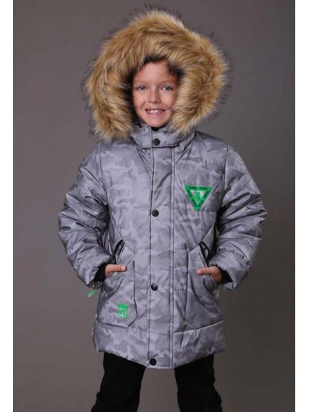 Зимова куртка для хлопчика