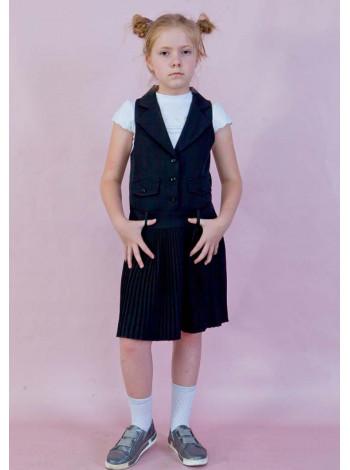 Модний шкільний сарафан