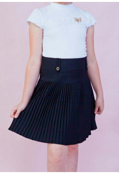 Школьная юбка плиссе