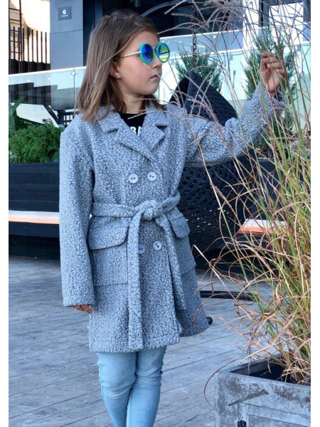 Дитяче пальто з букле