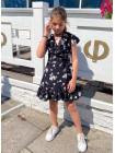 Літня дитяча сукня з квітковим принтом