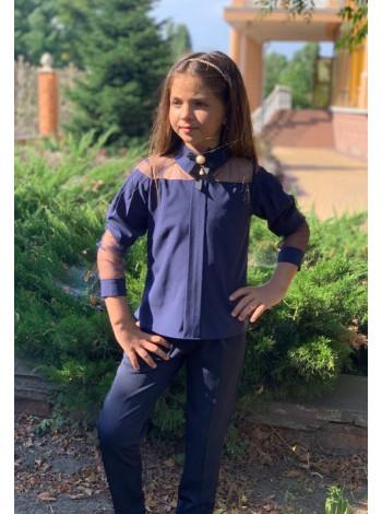 Класичні дитячі брюки на дівчинку