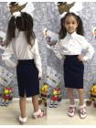 Детская школьная юбка карандаш