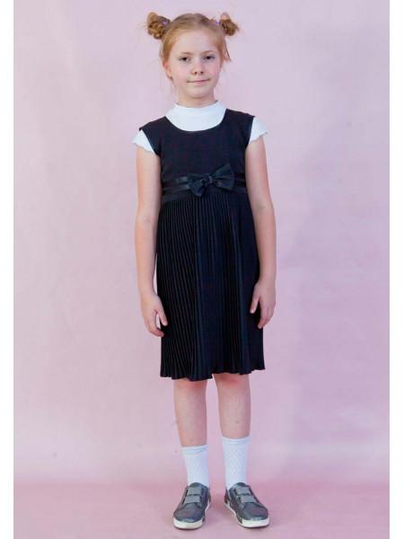 Модный детский сарафан для школы