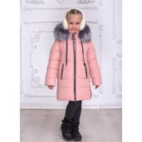 Тепла зимова куртка для дівчинки