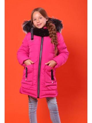 Дитяча зимова куртка для дівчинки