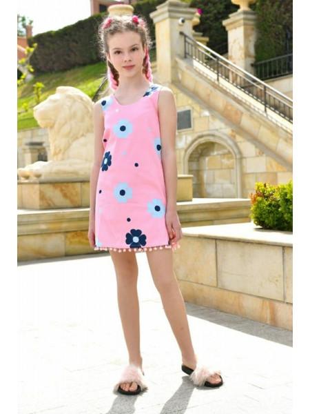 Літній дитячий сарафан для дівчинки
