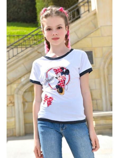 Детская летняя футболка для девочки
