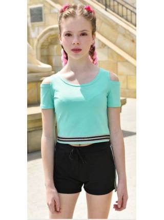 Літні короткі шорти для дівчинки