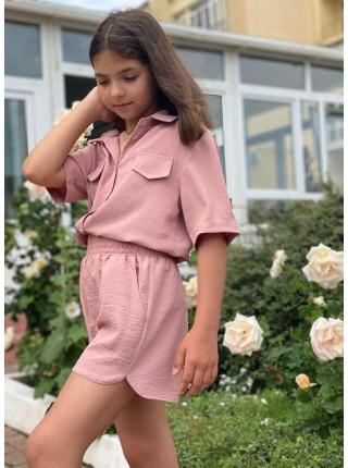 Літній костюм на дівчинку