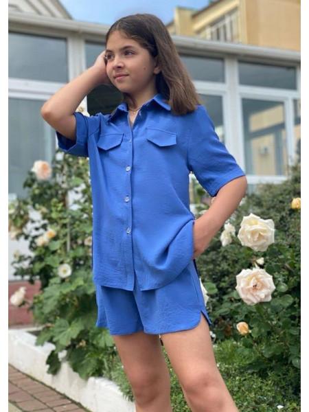 Летний костюм на девочку