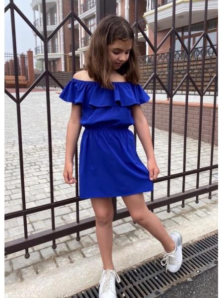Плаття з відкритими плечима для дівчинки