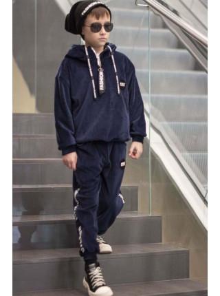 Велюровый костюм для мальчика