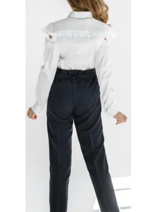 Черные школьные брюки для девочки