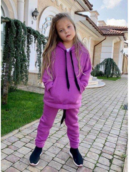 Теплий спортивний костюм на дівчинку двійка