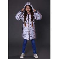 Куртка на дівчинку зима