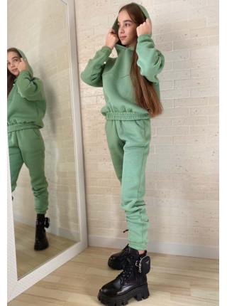 Теплий спортивний костюм на дівчинку підлітка