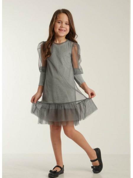 Детское платье двойка с сеткой