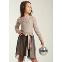 Детское платье с люрексом