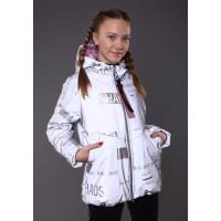 Демісезонна дитяча куртка світловідбиваюча