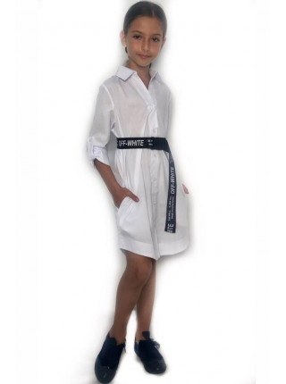 Платье рубашка на девочку