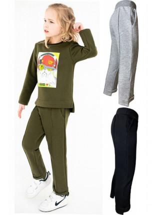 Дитячі спортивні штани на резинці