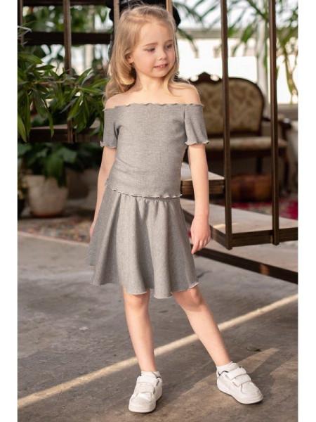Дитячий костюм зі спідницею