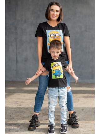 Комплект футболок для мамы и ребенка