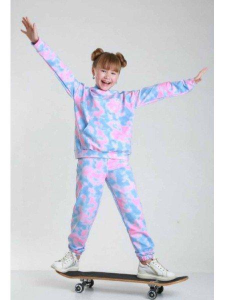Стильний спортивний костюм на дівчинку
