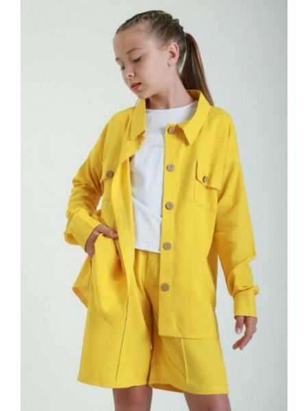Дитячий костюм з шортами і сорочкою