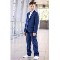 Школьный костюм для мальчика синий